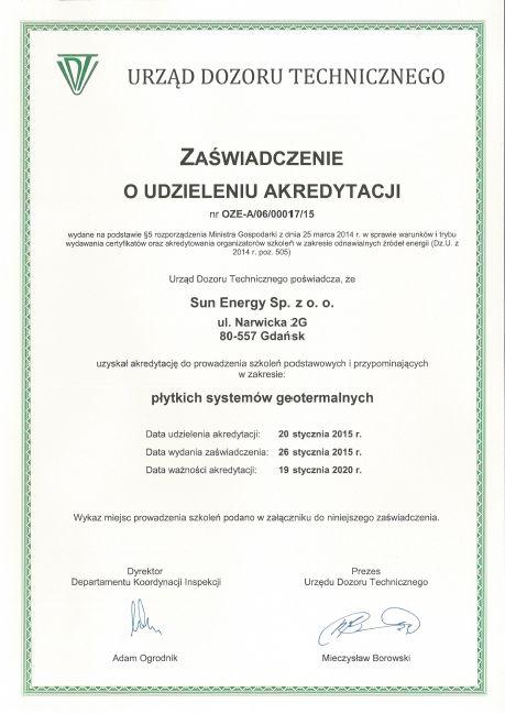 akredytacja_plytkie_systemy_geotermalne